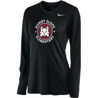 Bonny Slope 15: Nike Women's Legend Long-Sleeve Training Top - Black
