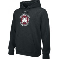 Bonny Slope 18: Adult-Size - Nike Team Club Men's Fleece Training Hoodie - Black