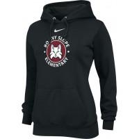 Bonny Slope 20: Nike Team Club Women's Fleece Training Hoodie - Black