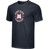 Bonny Slope 16: Adult-Size - Nike Combed Cotton Core Crew T-Shirt - Black
