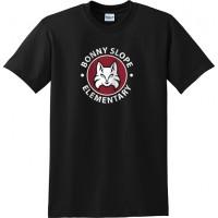 Bonny Slope 24: Gildan Heavy Cotton T-Shirt - Black